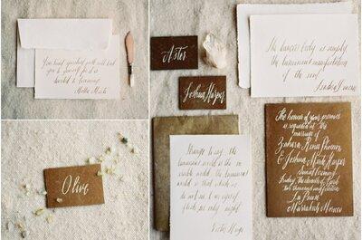 Tipografías ideales para la papelería de tu boda