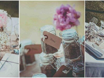A beautiful French wedding planned to perfection by Label'Emotion Provence!
