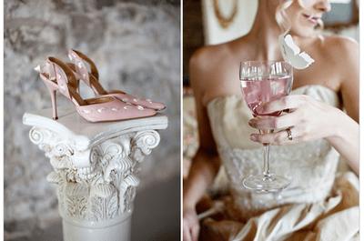 Real Décor : Décoration de mariage inspirée par l'élégante Marie Antoinette