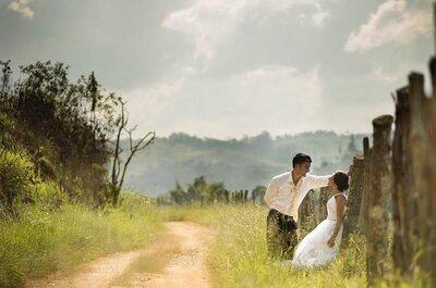 Luz natural: ingrediente MÁGICO para as fotos de casamento mais espontâneas!