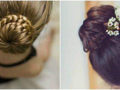 ¿Quieres un peinado espectacular? Los moños italianos te sorprenderán