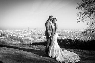 Charlène + Michaël : quand le romantisme est de mise dans la région lyonnaise