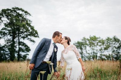 Chloé & Martin : du rose, des ballons et beaucoup d'imagination pour un joli mariage dans le Calvados !