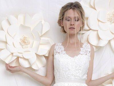 Craquez pour le style ultra romantique et délicat de la collection Faith Cauvain 2017