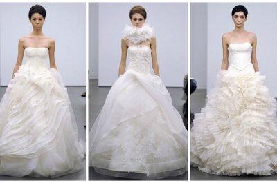 Vera Wang Wedding Dresses Fall 2013: A Return to Tradition