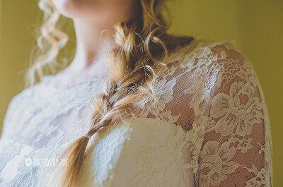 Para una boda en el campo...el vestido ¿con o sin encaje?