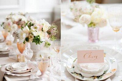 Come organizzare i tavoli del matrimonio in modo semplice ed impeccabile