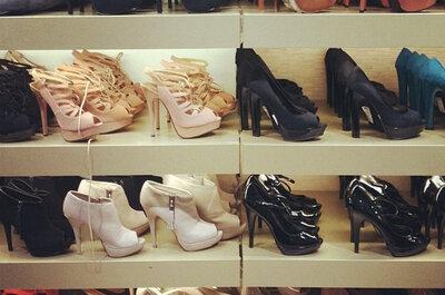 Schicke Schuhe für die Abendmode 2012