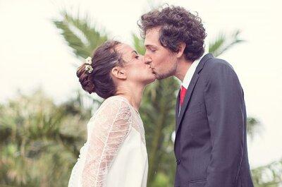 Entre terre et mer, découvrez le mariage de Juliette et Cyril à Biarritz.