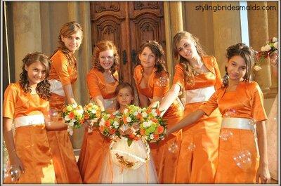 Damigelle di nozze in autunno: qualche consiglio per l'outfit perfetto