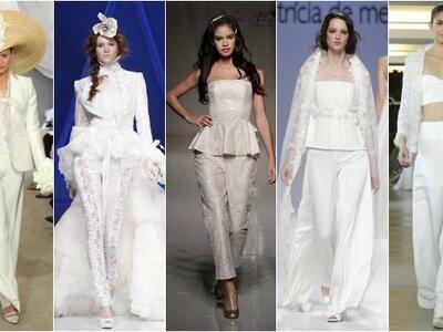 Vestidos de noiva coloridos 2013: admire-os na passerelle