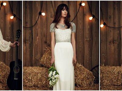 Jenny Packham Hochzeitskleider 2017: Stilsicheres Auftreten modebewusster Bräute