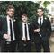 Una boda con detalles en color negro - Foto Lucy Birkhead Photography