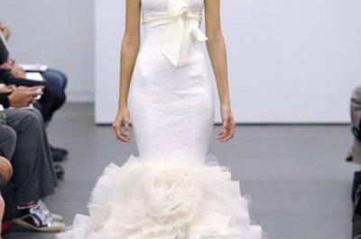 Vestidos de novia de Vera Wang para el otoño de 2013