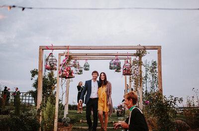 Wie dekoriert man richtig seine Hochzeit mit Blumen? Heiraten wie im Garden Eden