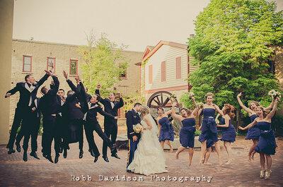 Hochzeitsfotos mit Lachgarantie