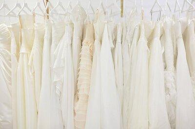 9 Sinais claros que lhe dizem quando o vestido de noiva não é o vestido certo para si! Anote.