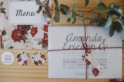 Convites de casamento: que tipo de letra combina com o estilo da sua festa?