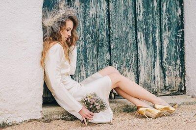 Tocados de novia 2015: el toque de luz que necesitas en tu look
