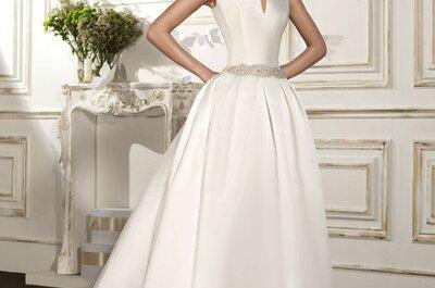 Tonos blancos para lucir perfecta con tu vestido de novia