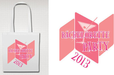 Des sacs à shopping pour le jour J et pour la bachelorette party