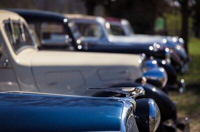 La bonne idée pour une entrée remarquée en voiture : la Citroën Traction-Avant!