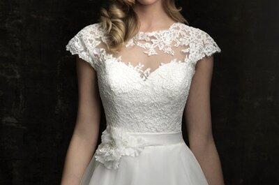 Suknie ślubne z kolekcji Allure Bridals 2012