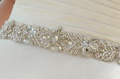 Cinture gioiello per abiti da sposa