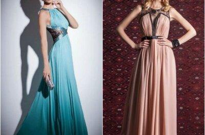 Cores claras e tom pastel: delicadeza e feminilidade nos vestidos de madrinhas