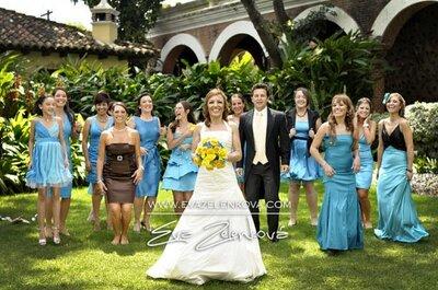 Mira este bello matrimonio mexicano totalmente personalizado
