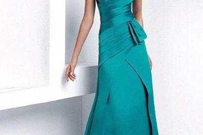 Seleção de vestidos longos para madrinhas e convidadas