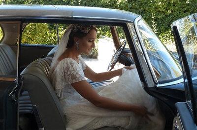 Sí, las transparencias están de moda, ¿te atreves a llevarlas en tu boda?