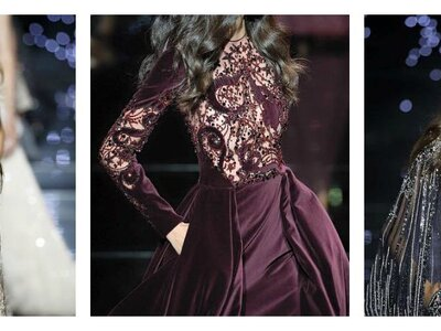 Zuhair Murad Haute Couture Automne - Hiver 2015/2016 : D'incroyables constellations de broderies