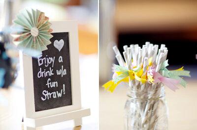 Inspírate en la boda vintage y DIY de Cheryl y Matthew
