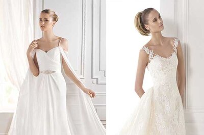 Let´s Get Strappy for Bridal Dresses in 2015