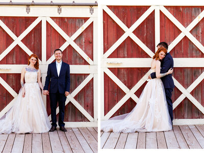 Beautiful Barn Wedding: Holli + DJ say I Do in Michigan