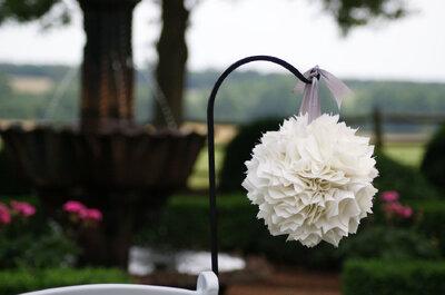 Hochzeitsdekoration 2015: Die schönsten Dekorationstipps für Ihre Zeremonie!