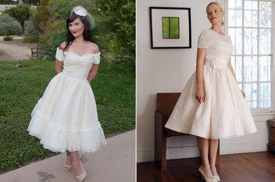 Vestidos de noiva com inspiração