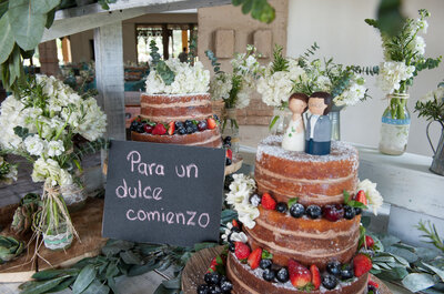 Cómo servir tu ponqué de bodas: 5 pautas para tener en cuenta