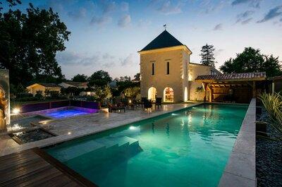 10 domaines enchanteurs où vous marier en Gironde !