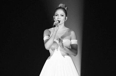 Avez-vous vu l'incroyable robe-écran de Jennifer Lopez pour le final d'American Idol ?