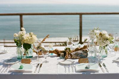 Real Wedding: Aires vintage chic en verde, ivory y menta