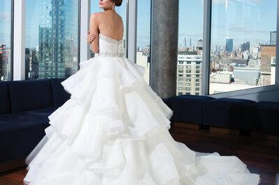 Clase, elegancia y glamour: Vestidos de novia 2014 de la colección Signature, por Justin Alexander