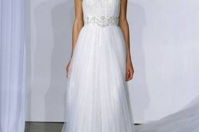 Vestidos de noiva Marchesa Outono 2013 na New York Bridal Week