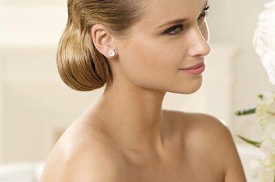Tiaras 2013 de Pronovias para tu peinado de novia