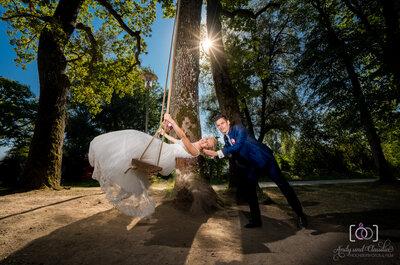 Hochzeitsfotos wie romantische Gemälde! Andy & Claudia malen mit Licht