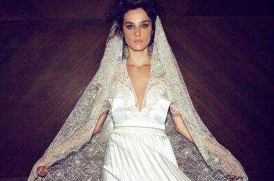 Zmysłowe suknie ślubne w kolekcji Zahavit Tshuba