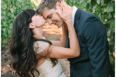 Real Wedding: La boda más romántica en Napa Valley