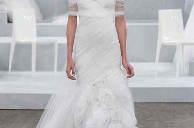 Brautkleider von Monique Lhuillier 2015 - traumhaft schön!