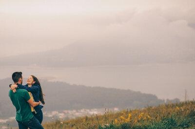 10 locais originais para uma sessão de namoro, porque namorar é tão bom...!
